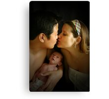 Because Two People Fell in Love Canvas Print