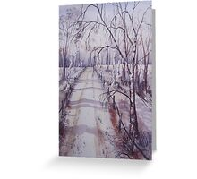 Strensall Common Greeting Card