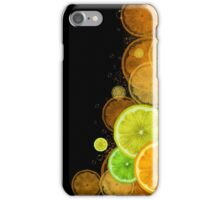Citrus background iPhone Case/Skin