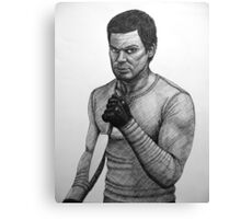 Dexter Morgan with knife Canvas Print