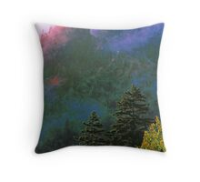 SPIRIT OF THE MOUNTAINS Throw Pillow