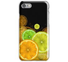 Citrus border iPhone Case/Skin