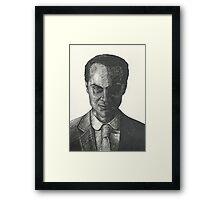 Moriarty Evil Super Villian Framed Print