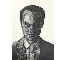 Moriarty Evil Super Villian Photographic Print