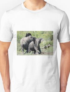 O NO, THIS IS MY SPACE! THE AFRICAN ELEPHANT – Loxodonta Africana - AFRIKA OLIFANT T-Shirt