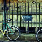 Bicycles on the Footpath by EllaM