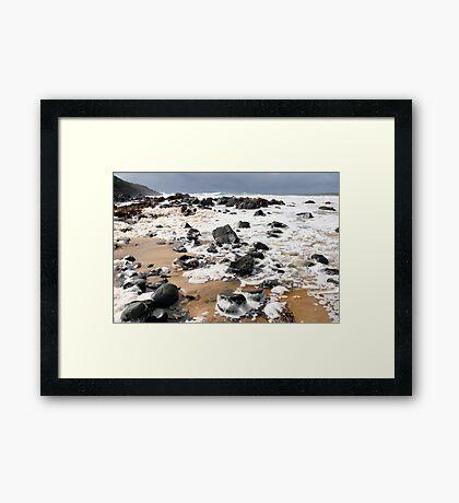Stormy Saltwater Framed Print