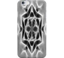 Gray Kaleidoscope Art 24 iPhone Case/Skin