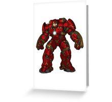 avengers 2 hulkbuster Greeting Card