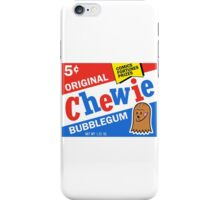 CHEWIE BUBBLEGUM iPhone Case/Skin