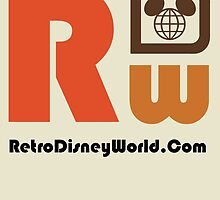 Retro Walt Disney World Logo  by retrowdw