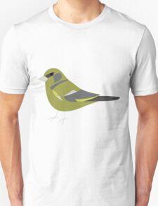 Greenfinch Bird / Chloris Chloris Unisex T-Shirt