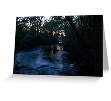 On the Brink of Night... Greeting Card