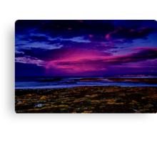 """Twilight Rainstorm"" Canvas Print"