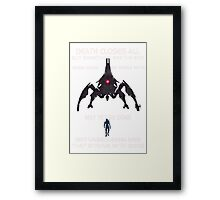 Something Ere The End (With Text) Framed Print