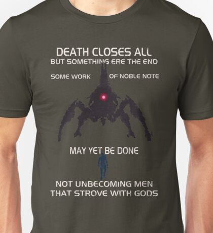 Something Ere The End (With Text) Unisex T-Shirt