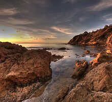 Mount Martha sunset by Michael Sanders