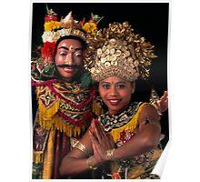 Balinese dancers Poster