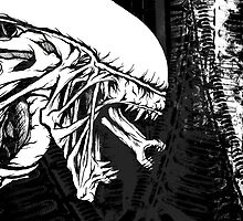 Alien Xenomorph 2 by jarofcomics