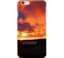 October Sunset iPhone Case/Skin