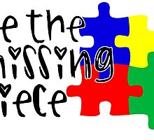 Autism Be The Missing Piece by TeeHunter