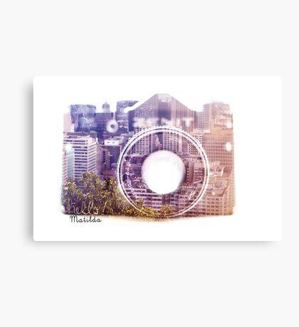My Camera Canvas Print