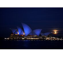 Moon Rise Photographic Print