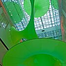 Green Void, Customs House, Sydney, Australia by Adrian Paul