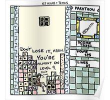 127 Hours + Tetris Poster