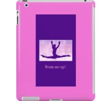 "The Gymnast ""Beam me up!"" ~ Purple Version iPad Case/Skin"