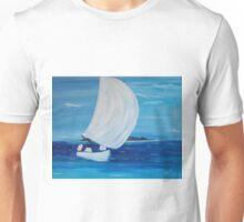 Last tack: sailing to Bora Bora Unisex T-Shirt
