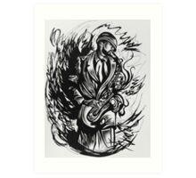 Melodic Storm Art Print