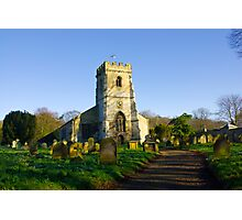 All Saints Church - Settrington Photographic Print