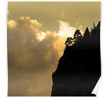 Shadows at Pyrenees Poster