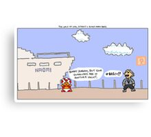 The Wolf of Wall Street + Super Mario Bros. Canvas Print