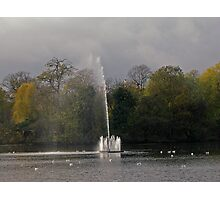 Victoria Park, Water Fountain  Photographic Print