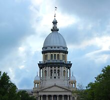 Springfield IL State Capitol by Tobias Bergdorf