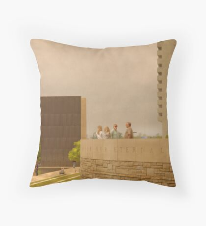 Discussion of Death Throw Pillow
