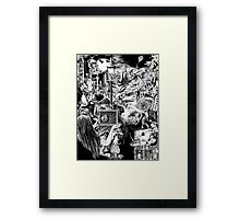 'A Limitless Chest of Tales' Framed Print