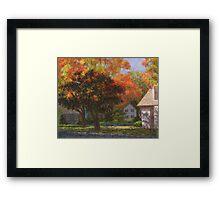 Autumn Shadow and Light Framed Print