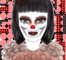 Luna Moona the Clown by jaime hamilton