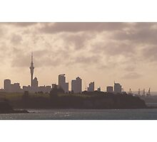 City Silhoutte Photographic Print