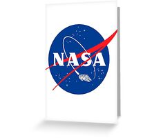 NASA LOGO FALC Greeting Card