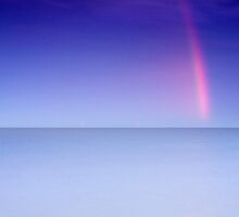 Rainbow Shard Over the Sea by Andy Freer