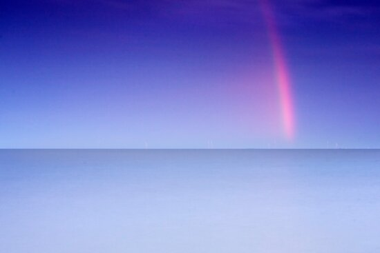 Rainbow Shard Over the Sea by Andy F