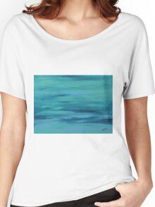 """Big Blue 1″ Women's Relaxed Fit T-Shirt"