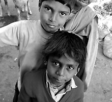 Cheeky kids by meganslattery