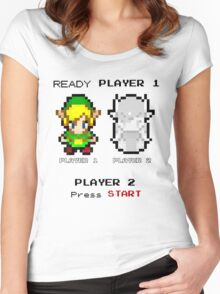 Ready player 1 Women's Fitted Scoop T-Shirt