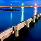 Breakwater, Brighton, Melbourne by Mark Boyle