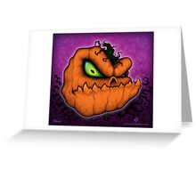 Punkin Head Greeting Card